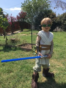 Evan as Rey from Star Wars The Force Awakens